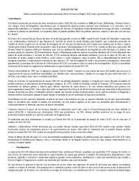 ESPECTROMETRIA DE MASAS MALDI TOF