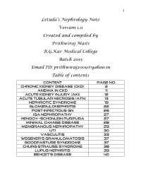 Nephrology , medicine