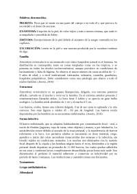 Parasitos nematodos, tratamiento farmacologico