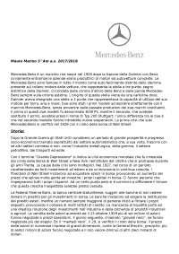 Tesina I.I.S.S. Meccanica, Prove svolte di Maturità di Meccanica