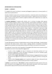 BIOINGEGNERIA DEL SISTEMA MOTORIO - Prof. Frigo