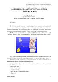 Tema 4. dialisis peritoneal
