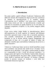 Capitolo 5. Principale e agente (tradotto in italiano)