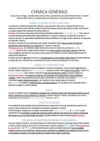 Riassunto Chimica - Bertini Luchinat Mani