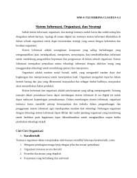 SUMMARY FROM MANAGEMENT INFORMATION SYSTEM AND INTERNATIONAL BUSINESS