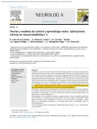 Teorías y modelos de control y aprendizaje motor.