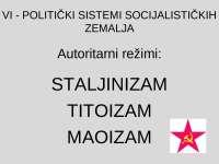 Savremeni politicki sistemi