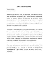 CARTILLA DE ECONOMIA