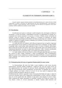 elementi termofluidodinamica
