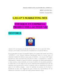 las 4 ps del marketing mix
