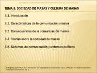 Tema 8 sociologia de la comunicacion