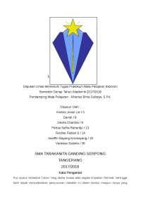 EKONOMI KELAS 11 - SMA