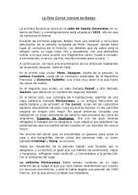 Resumen de Le pére Goriot, Honoré de Balzac