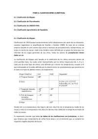 Resumen del tema 6 de Climatología