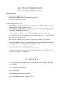 diritto dei finanziamenti garantiti e delle reti d'impresa