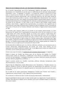 Proceso de Formación de los Tratados Internacionales