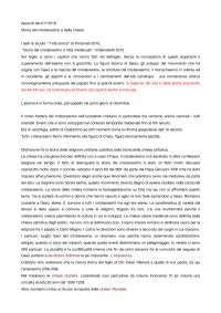 appunti Univr storia del cristianesimo e delle chiese prof. Rossi