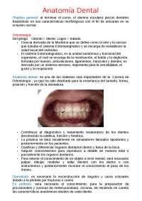 Introducción anatomia dental
