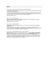 Programacion diciembre Filmoteca Española