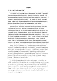 Apuntes Pablo Neruda