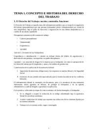 Apuntes Derecho Laboral I
