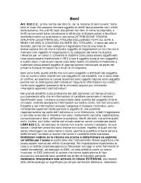 Sbobinature Diritto privato, lezione sui beni, proprietà e possesso