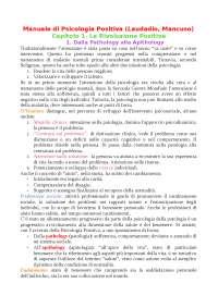 Manuale di Psicologia Positiva (Laudadio-Mancuso)