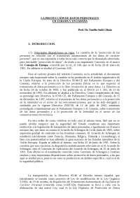 proteccion de datos directiva