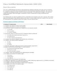 Temario CCNA 200-125