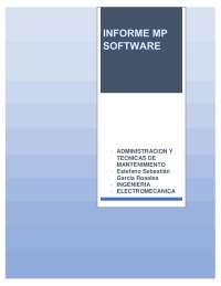 Informe Mp software, Diapositivas de Diseño de Máquinas