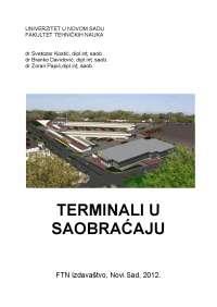 """Terminali u saobraćaju"""""""