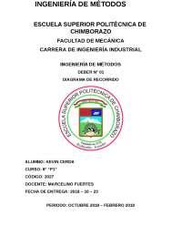 DIAMGRAMAS DE RECORRIDO