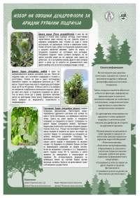 Ovosna dendroflora za aridni podracja