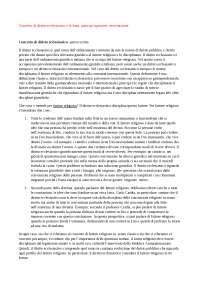Lezioni Diritto Ecclesiastico prof.ssa Serra