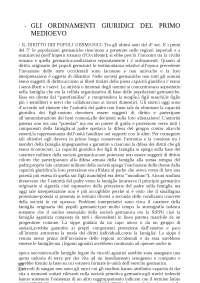 ORDINAMENTI GIURIDICI DELL'EUROPA MEDIEVALE, IL MULINO