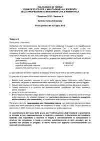 Esame di Stato Abilitazione Ing Civile sez B