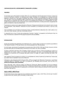 CONTABILIZACION DEL ARRENDAMIENTO FINANCIERO (LEASING)