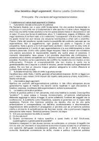 Una bioetica degli argomenti, Marina Lalatta Costerbosa