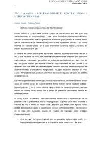 PAC 1 justícia, conflicte i educació social