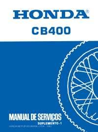 Manual de Serviço Honda CB 400 / Service Manual Honda CB 400