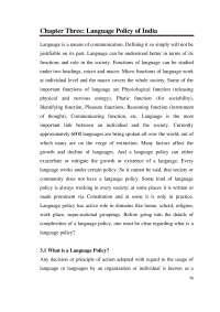 índia y sus lenguas habladas