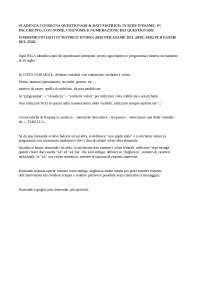 Indicazioni Matrice SPSS e programma prof. Tusini A.A. 18/19