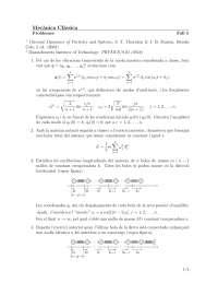 Problemas mecanica clasica 5