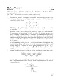 Problemas mecanica clasica 4