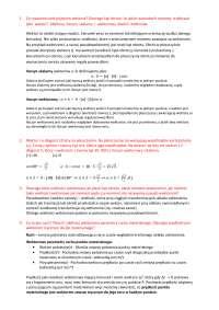 Fizyka - opracowane pytania na egzamin