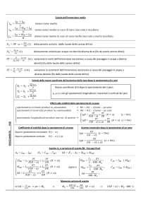 formulario problemi di navigazione per esame di maturità