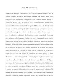 storia del teatro francese riassunto