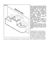 cortes y secciones de piezas mecanicas usadas en mecanizados