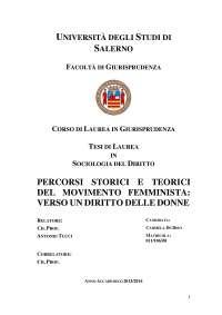tesi di laurea triennale in sociologia del diritto