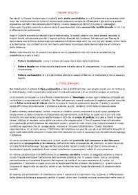 Riassunto sui regimi politici e sul Welfare State. Liceo delle scienze umane (Sigonio)